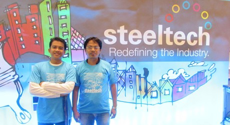 Steeltech Booth wins Best Booth at CONBEX Davao 2014