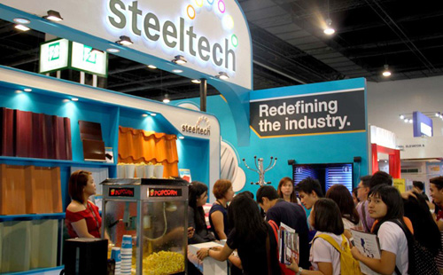 Steeltech displays high quality roofing materials at CONEX 2014