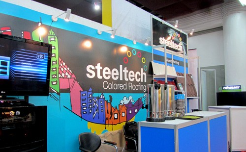 Steeltech Exhibits Products at PHILBEX CEBU 2014