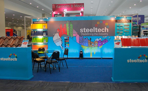 Steeltech Joins first-ever PHILBEX DAVAO