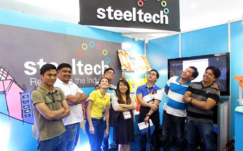 Steeltech joins as exhibitor in PHILCONSTRUCT MINDANAO
