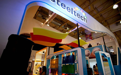 Steeltech showcases product portfolio at WORLDBEX 2014